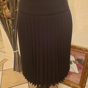 Worthington Pletted Skirt